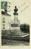 Prévisualisation de postcard with an image of the statue of Dague… imagettes
