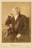 Thumbnail preview of Portrait of Daguerre, albumen print on paper,…