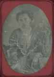 Visualizza Bildnis einer jungen Dame, halbe Figur, an ei… anteprime su