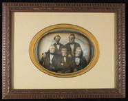 Visualizza Group portrait of five men. anteprime su