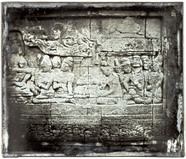 Visualizza relief of the main wall, first gallery, at th… anteprime su