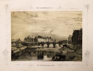 Visualizza Paris daguerréotypé No 8, Pont Neuf pris du Q… anteprime su