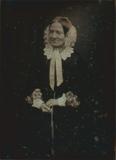 Visualizza Porträt einer unbekannten älteren Dame mit we… anteprime su