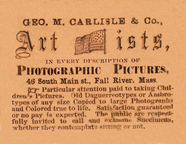 Visualizza photographers label, Carlisle & Co, Fall Rive… anteprime su