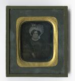 Miniaturansicht Vorschau von Porträt einer Frau (Reproduktion eines Gemäld…