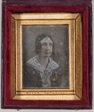 Visualizza Portrett av en middelaldrende kvinne med en k… anteprime su