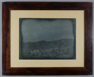 Miniaturansicht Vorschau von Panoramic landscape view from the west window…