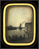 Thumbnail af Navire quittant le port du Havre