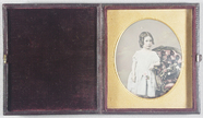 Miniaturansicht Vorschau von Hand coloured three-quarter length portrait o…