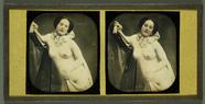 Miniaturansicht Vorschau von Weiblicher Akt mit Harfe