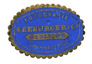 Thumbnail af Etikett von Seeburger & Co.