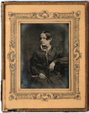 Thumbnail preview of Three quarter length portrait of a seated wom…