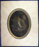 Miniaturansicht Vorschau von Young man - dandy - with mustache and gloves …