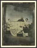 Esikatselunkuvan Madame Edouard Bertin (?) en compagnie de deu… näyttö