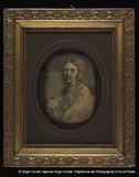 """Visualizza Reproduction d'une peinture. Femme en buste.""""… anteprime su"""