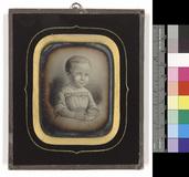 Visualizza Halbfigur eines etwa zweijährigen unbekannten… anteprime su