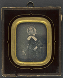 Visualizza Bildnis einer Frau mit weißer Haube und weiße… anteprime su