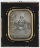 Thumbnail preview of colored portrait of a woman