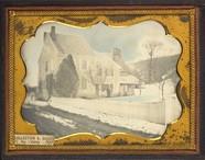 Thumbnail af Maison sous la neige, à la campagne