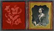 Visualizza Mädchenporträt, USA, ca. 1852. anteprime su