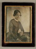 Visualizza Portrait einer jungen Frau, ca. 1845 - 1850, … anteprime su