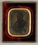 Thumbnail preview of Bildnis eines Mannes mit Vollbart, um 1850.