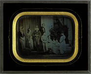 Prévisualisation de Portrait de groupe, famille Eynard et amis imagettes