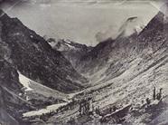 Miniaturansicht Vorschau von Tal in den französischen Alpen. Die Aufnahme,…