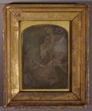 Visualizza three quarter length portrait of young woman anteprime su