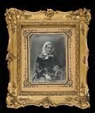 Visualizza Portrait d'une vieille femme assise. Son bras… anteprime su