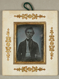 Thumbnail preview of Junger Mann, sitzend- frontal, vor 1845?