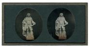 Stručný náhled Statue eines Mannes in barocker Kleidung Abge…