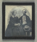 Visualizza Double portrait of unidentified man and woman anteprime su