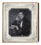 Thumbnail preview of Porträt eines jungen Mannes mit Zigarre