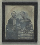 Thumbnail preview of Double portrait of unidentified man and woman