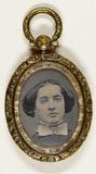 Miniaturansicht Vorschau von Memoriehanger met portretfoto van een vrouw