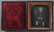 Miniaturansicht Vorschau von Almost full-length portrait of a child with s…