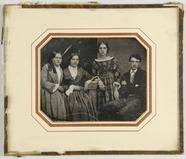 Visualizza Drei Frauen und ein junger Mann, Geschwister,… anteprime su