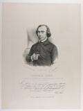 Esikatselunkuvan Brustbild eines Mannes mit halblangen Haaren,… näyttö