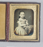 Visualizza Three-quarter length portrait of a child, sta… anteprime su