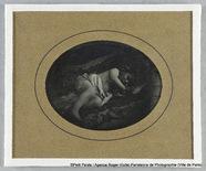 Visualizza Thérèse Riesener, enfant, couverte d'un linge anteprime su
