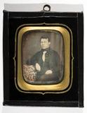 Visualizza Portrett av mann, Peder Blessing (1829-1882),… anteprime su