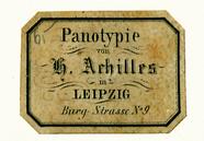 Visualizza Etikett von H. Achilles anteprime su