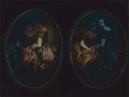 Forhåndsvisning av Stereo-Doppelporträt zweier junger Damen. Die…