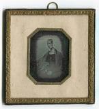 Miniaturansicht Vorschau von Bildnis einer unbekannten sitzenden Frau im D…