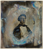 Miniaturansicht Vorschau von loose plate; portrait of unknown young man, p…