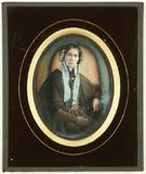 Miniaturansicht Vorschau von Porträt einer Frau mit strengem Blick. Cape, …
