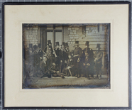 Thumbnail preview van Daguerreotype of a group of men, including th…