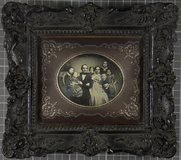 Visualizza Gruppenporträt der Familie Kette, Ehepaar mit… anteprime su
