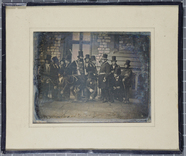 Visualizza Daguerreotype of a group of 15 men, including… anteprime su